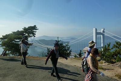 眺めは最高な山頂付近